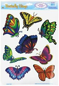 The Beistle Company Butterfly Clings (Pack of 12)
