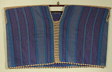 New Authentic Handmade/Stitched Mexican Hand Loomed Huipil/Blouse/Top Folk Art