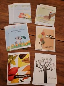9 Greeting Cards Friendship Get Well & Envelopes HOPE HABITAT for HUMANITY