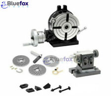 Rotary Table 6150mm Kit With Dividing Plate Tail Stock Amp Clamp Set