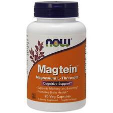NOW FOODS, MAGTEIN Magnesium L-Threonate 90 Veg. Kapseln SUPER PREIS