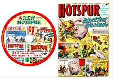 Hotspur 314 Issues Range 1 - 316 on DVD Brit Action Comic Viewing Software