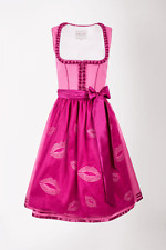 14266 Krüger Damen Dirndl Trachtenkleid NEU Größe 40 Oktoberfest 60 cm pink