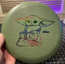 Discraft Paul McBeth Luna - Baby Yoda The Child - Green w/ Rainbow Stamp - 172g