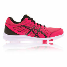Synthetic Lace Up ASICS Shoes for Women