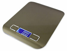 Super Compact Multi Purpose Digital Glass Weighing / Steel Kitchen Scale