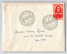France 1956 Champlain Issue on Salon International Cover - Z13384