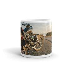 RETRO MOTO Tasse-Biker Cadeau Papa Frère Oncle Grand-père moto #8210