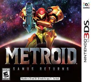 Metroid: Samus Returns (Nintendo 3DS) New