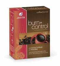 JAVITA Coffee Burn + Control Weightloss Coffee. Brand New. 24 Servings (EXP.