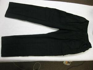 Men's Propper Tactical Cargo Pants Size 36/34 Black EMS Police