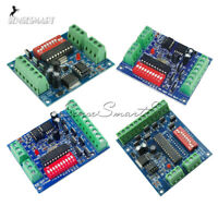 DMX512 Decoder 8/6/4/3 CH Channel RGBW Controller LED Stage Lighting CMOS Output