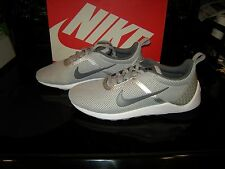 Brand New Mens Two Tone Gray Nike Lunarestoa 2 Essential Tennis Shoes, Size