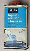 Vtg. adv tin box Holts Liquid radiator cleanser Automobile Collectible England