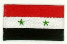 us seller small Syria national country Flag sew or Iron On Patch 1676