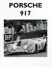 Porsche 917 and Its Racing Record, Colin Pitt, Very Good, Paperback