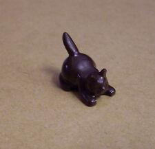 Lego Katze braun spielend liegend ( Katzen Tiere Bauernhof Zoo Crouching ) Neu