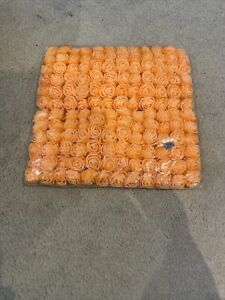 Foam Roses Pack Of 144 Orange