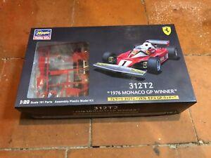 Hasegawa 1/20 Ferrari 312T2 1976 Monaco GP Winner /  parts sealed