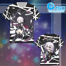 Summer Anime T shirt Fate Apocrypha Jack the Ripper Unisex Short Casual Tee Tops