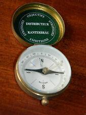 vintage BIERE KANTERBRÄU west germany COMPASS BIER boussole ANCIEN alt Kompass