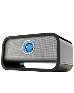 Brookstone Big Blue Black Speaker