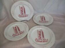 G1  1970's Marriot Hotel 4 Dinner Plates Bauscher- Weiden
