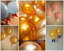 10-100 nacré Ballons & Ballon bouclé ruban pour anniversaires fiançailles