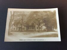 FRONT AND QUAKER STREET, Port Elizabeth, New Jersey Real Photo Postcard