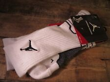 JORDAN Nike Jumpman Advance Dri-Fit Socks Size XL 12-15 NEW 642209-103