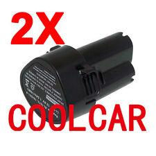 2 Batteries For Makita 10.8V Li-ion 1.5Ah heavyduty 194551-4 TD090DWE DF030DWE
