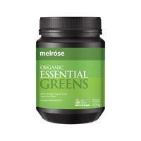 Melrose Organic Essential Greens 200g Powder Wholefoods & Superfoods