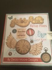 Debbi Moore Designs Shabby Chic Time Flies Inspirational Papercrafting CD Rom