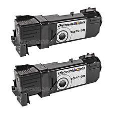 2PK 106R01281 Black Toner Cartridge for Xerox Phaser 6130 6130n 106R1281