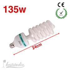 135W 5500K E27 Fotolampe Lampe Spiral Tageslicht Energiesparlampen DE