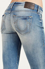 NWT TRUE RELIGION Sz28 BECCA BOOTCUT MID-RISE STRETCH JEANS BLUE HAVEN $199.