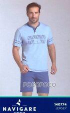 Pajamas Seraph half Sleeve Cotton Navigare Art. 140774