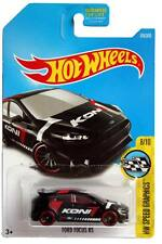 2017 Hot Wheels #176 HW Speed Graphics Ford Focus RS black