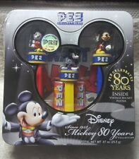 New Pez Collectibles Disney Mickey Mouse Celebrates 80 years 3 Dispensers
