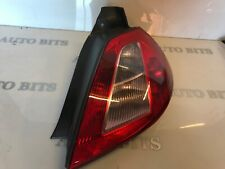 RENAULT MEGANE 2005 DRIVERS REAR LIGHT OSR TAIL LIGHT