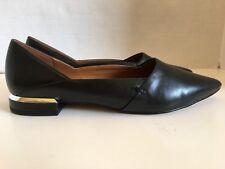 Halston Charlotte Leather Flat - Size 8M- New