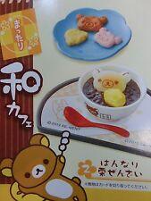 New Re-ment Miniature San X Sanrio Rilakkuma Sweets Japanese Cafe No,2