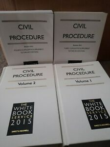 Civil Procedure 2015 Volume 1 And Volume 2, Edition 2015 With all Supplements