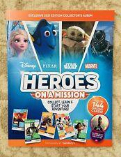 Sainsbury's Disney Heroes Album (Marvel, Disney, StarWars, Pixars) - New