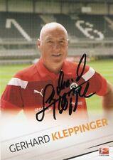 Gerhard Kleppinger SV Sandhausen 2016/2017 2016/17-Autogrammkarte Selten BVB KSC