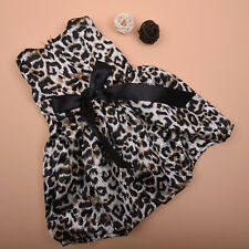 Cool Leopard Print Dress For 18 Inch Toy Doll Toy Kid Gift Clothing