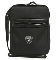 Borsello Borsa Tracolla Uomo Lamborghini Ecopelle cross body nero 17x22x5 cm