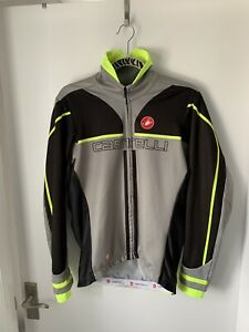 Mens Castelli Free Windstopper Cycling Jacket. Size XL.