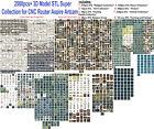 NEW 2510+ 3D Model STL Super Collection for CNC Router Aspire Artcam Cut3D