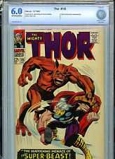 Thor  #135 CBCS 6.0 FN 1966 Silver Age Marvel Comics